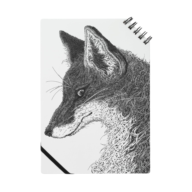 いきものイラストショップの狐の頭部 Notes