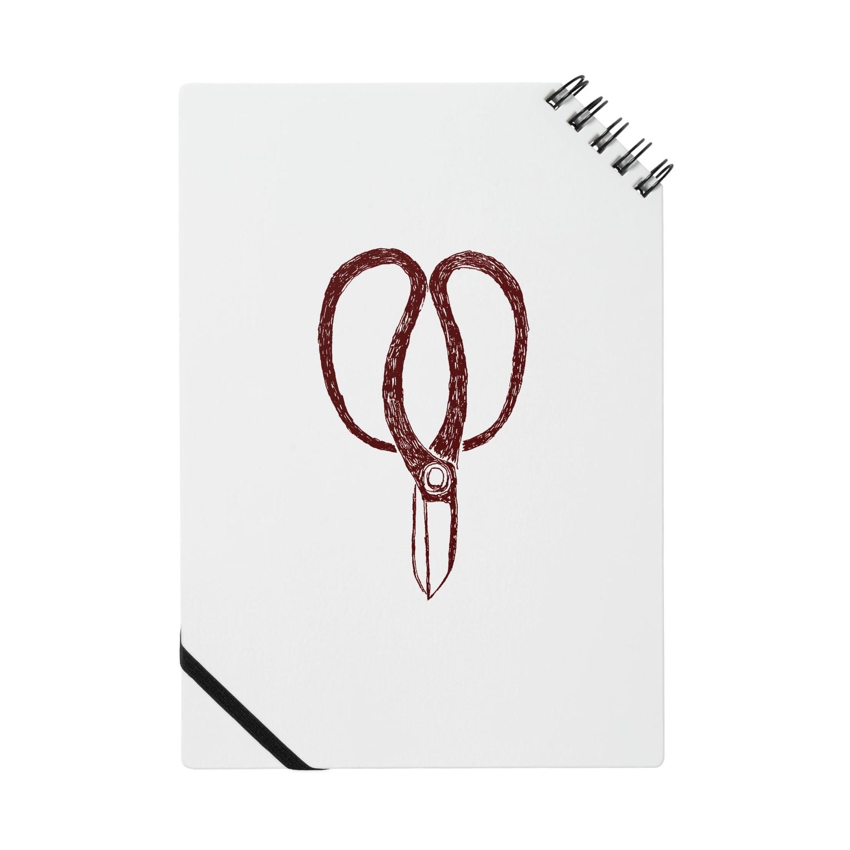 NIKORASU GOの植木職人専用デザイン「植木屋鋏」 Notes
