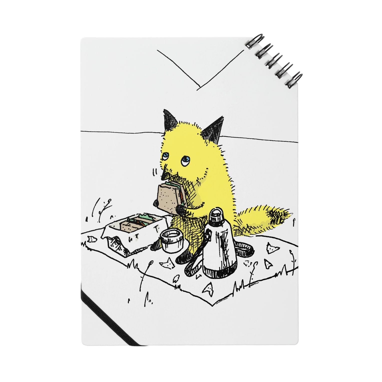 nola Inc.のきつねさんシリーズ(ピクニック) Notes