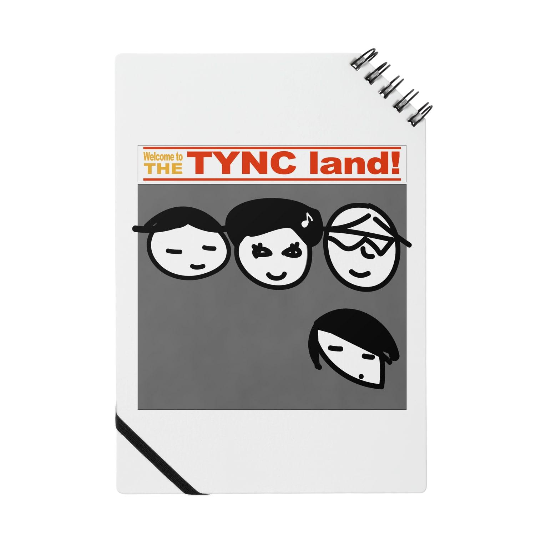 Kekyo & Yoritan RECORDSのTHE TYNC land ノート