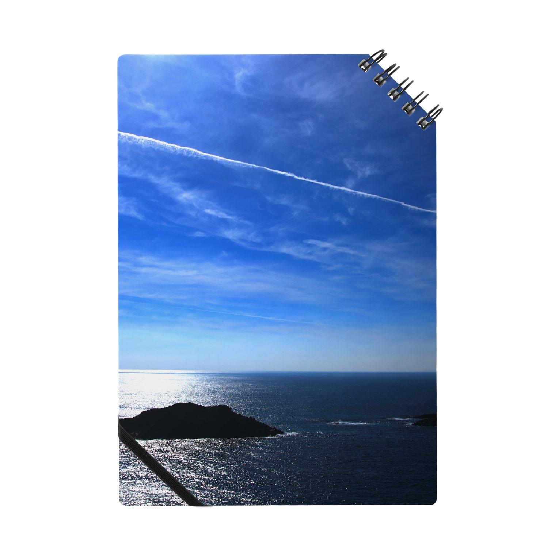 M.F.Photoの夏の空と飛行機雲 ノート
