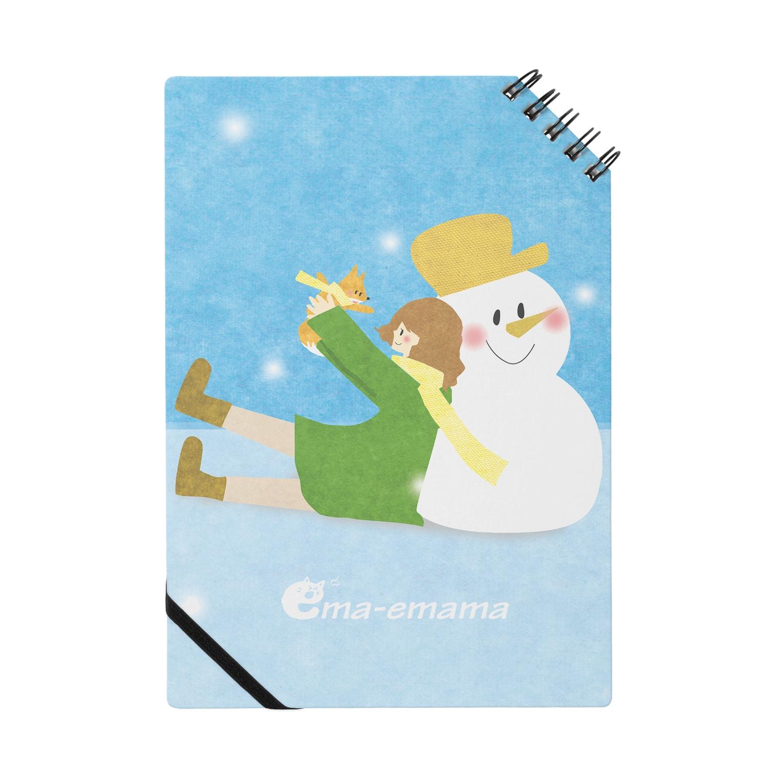やたにまみこのema-emama『winter-girl』 Notes