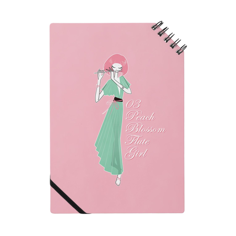 tomokomiyagamiのPeach blossom Flute Girl ノート