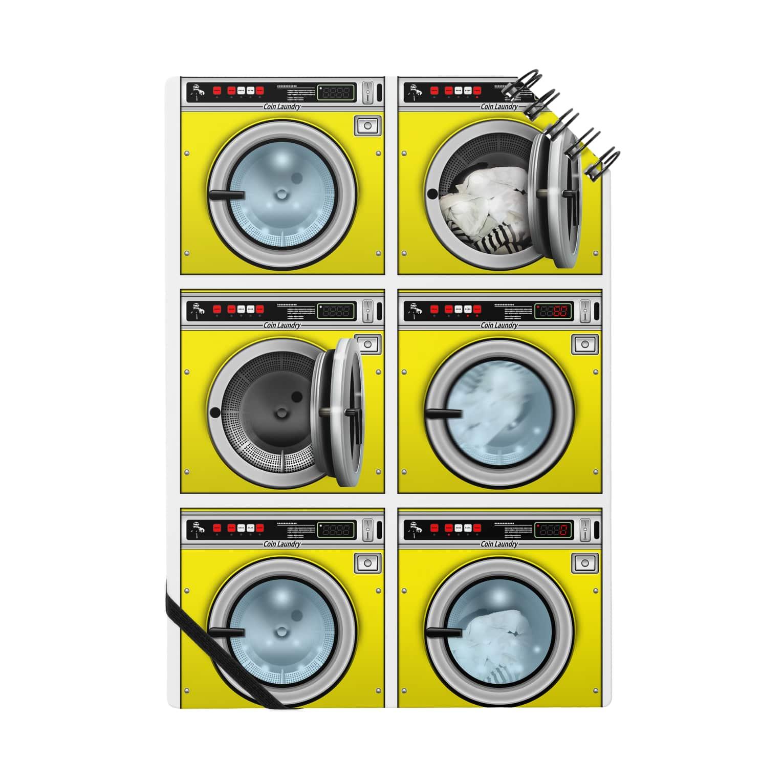 TOMOKUNIのコインランドリー Coin laundry【2×3】 Notes
