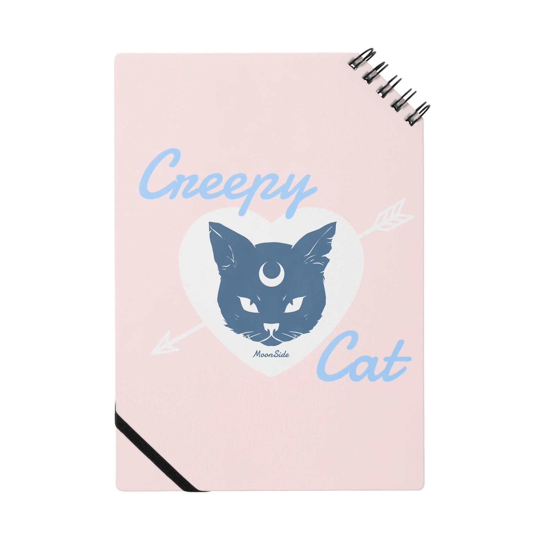 IENITY / MOON SIDEの【MOON SIDE】 Creepy Cat #Pink*Blue Notes