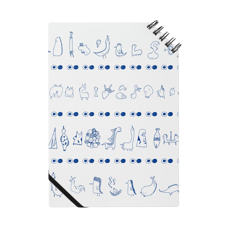 ツルマルデザインのちいさいひとたち ノート
