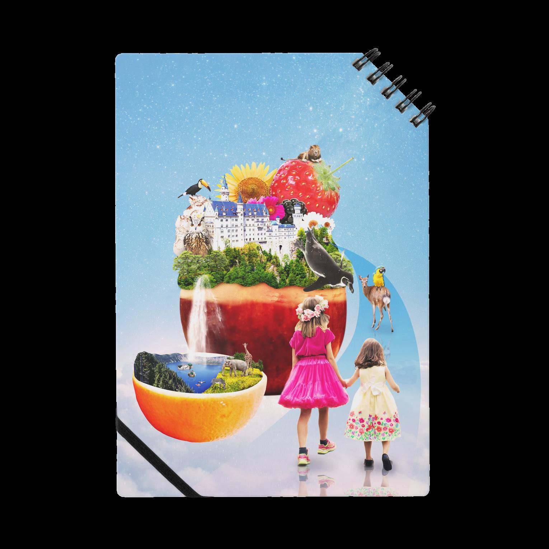.A02 DESIGN STUDIO の夢のお城と楽園ノート