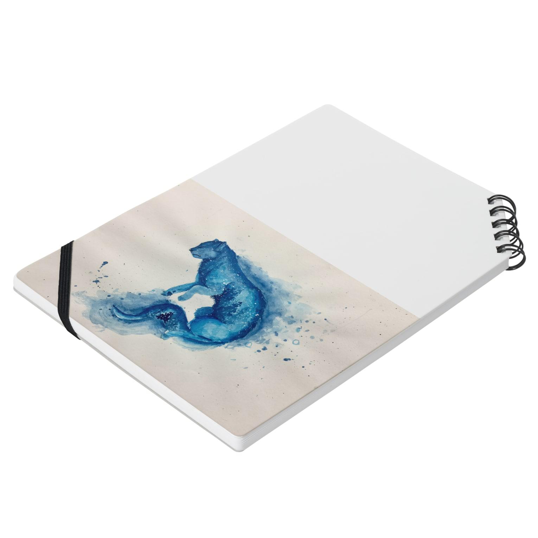 BTOKの青い猫 Notesの平置き
