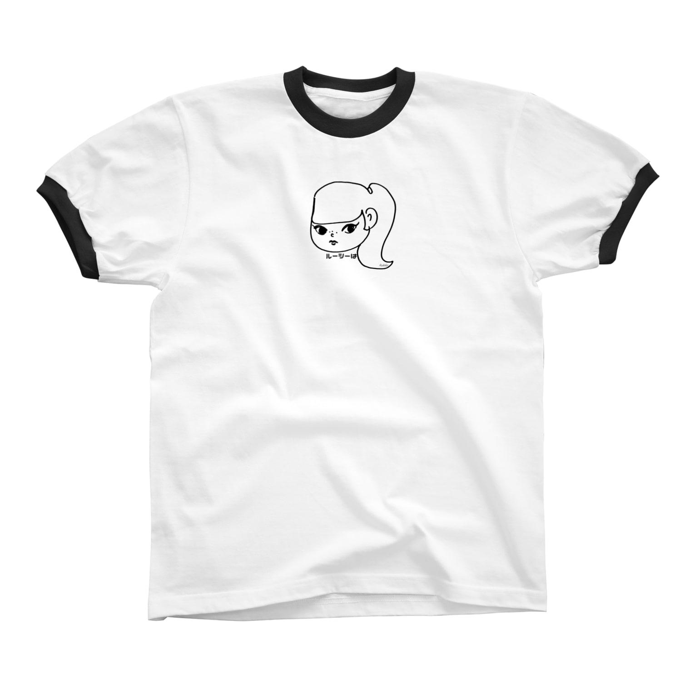 Asukalleのルーシーは リンガーTシャツ