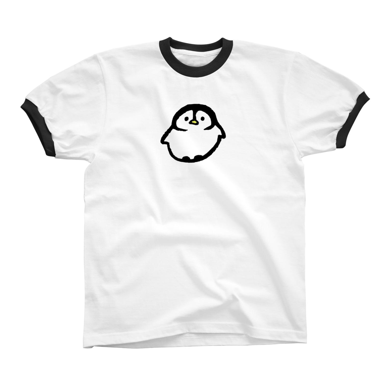 といすのぺんぎんくん Ringer T-shirts