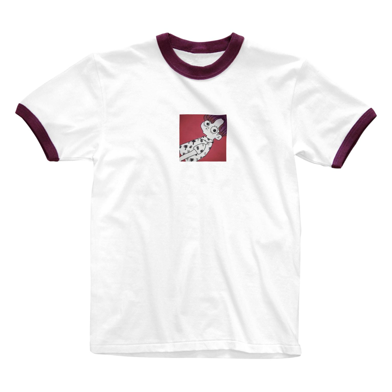 mitsuki.🥫のアロハboy🏝 Ringer T-shirts