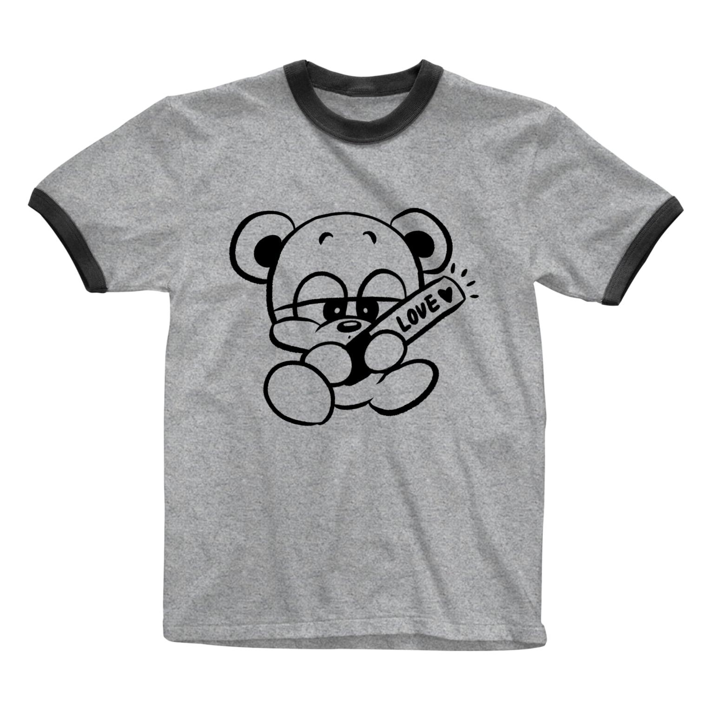 nakamaruの推しクマくん Ringer T-shirts