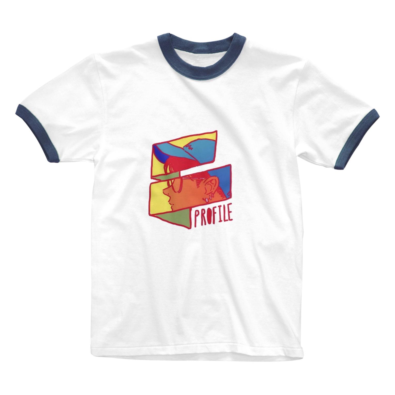 kirinkikikiのカラフルboy Ringer T-shirts