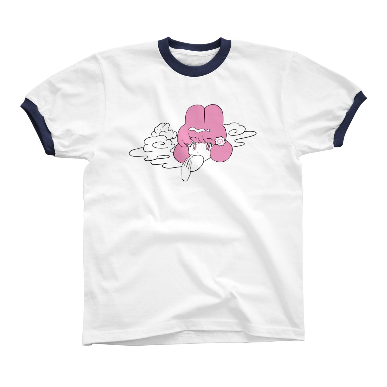 nsnの🍥 リンガーTシャツ