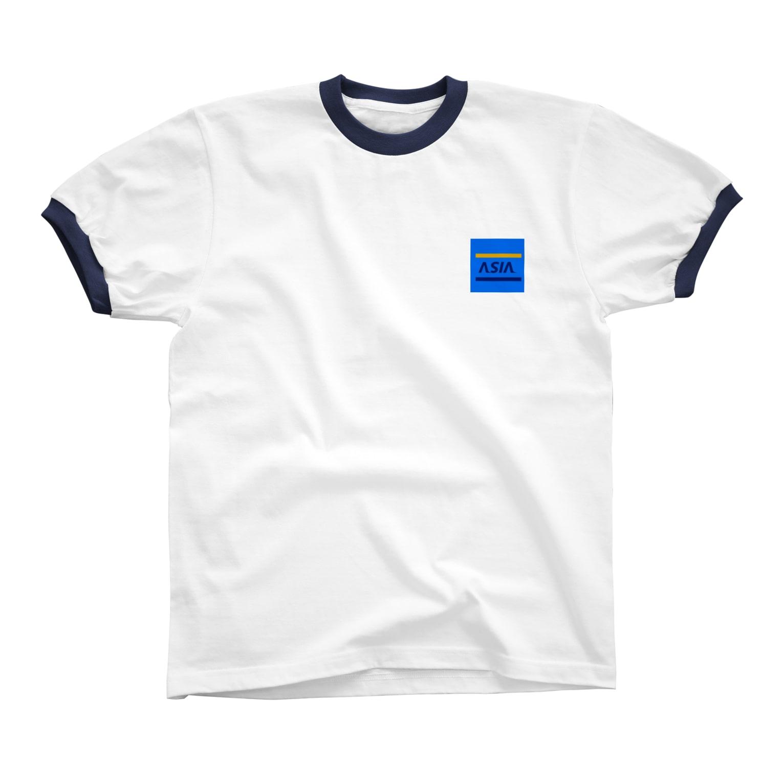 FuckingnicecreamのASIA リンガーTシャツ