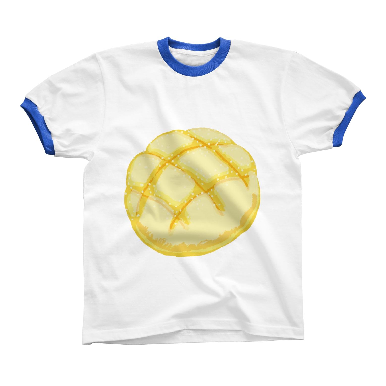レモネードプールのメロンパン リンガーTシャツ