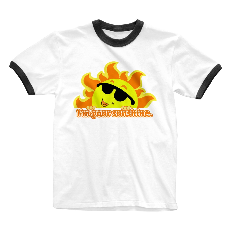 LOFT KEITHのI'm your sunshine! Ringer T-shirts