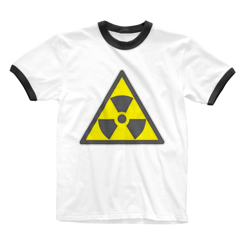 AURA_HYSTERICAのRadiation_S Ringer T-shirts