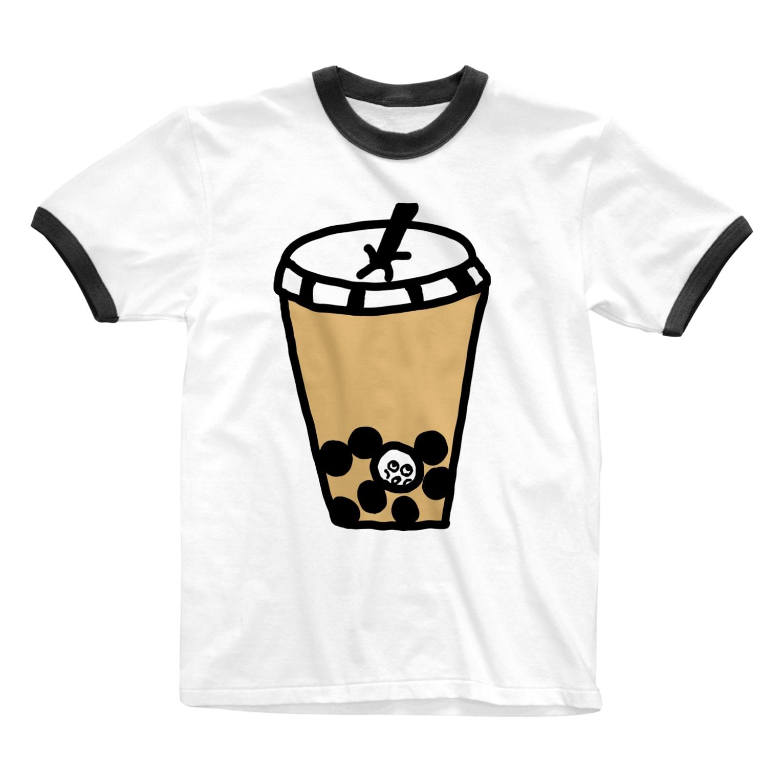 Venizakuraのタピオカにつかりたい。 Ringer T-shirts
