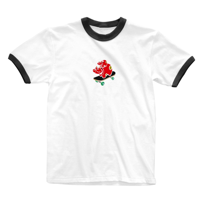 Starfish&Co.のAkabeko Ringer T-shirts