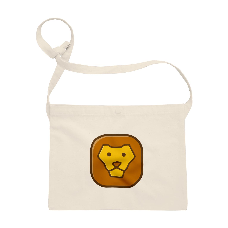 willnetのSavanna lion face Sacoches