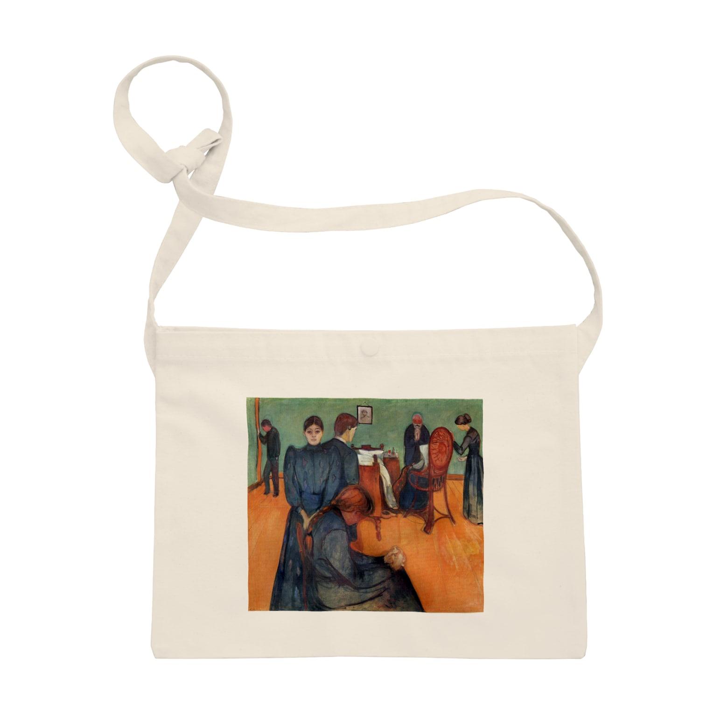 Art Baseのムンク / 病室での死 / Death in the sickroom / Edvard Munch/1893 Sacoches