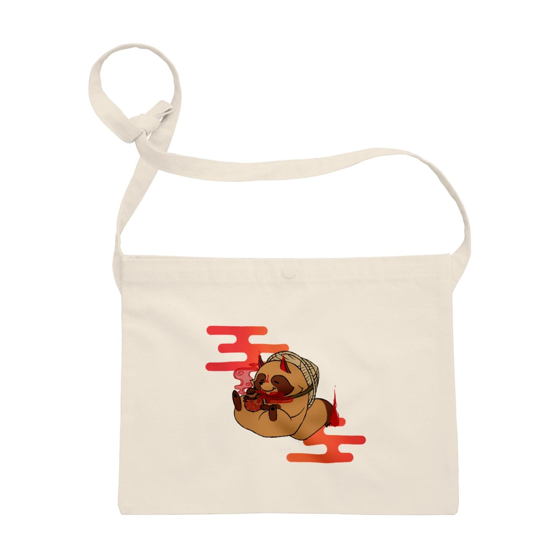 奈々菜の霞タヌキさん Sacoches