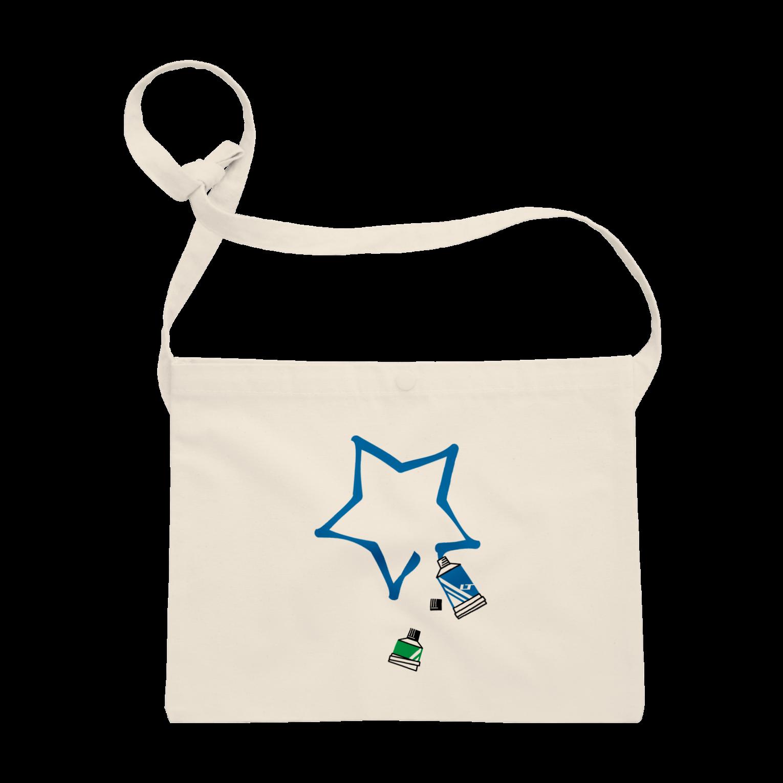 LINOS-Tの絵の具チューブ サコッシュ