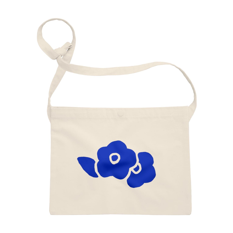えの青い花 Sacoches