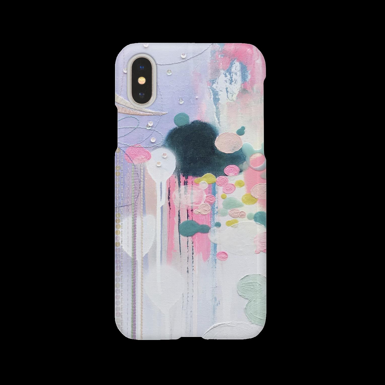 TOMOMIMASUDA-STOREのiPhoneケース*ちゃんとここで見てるから。 スマートフォンケース
