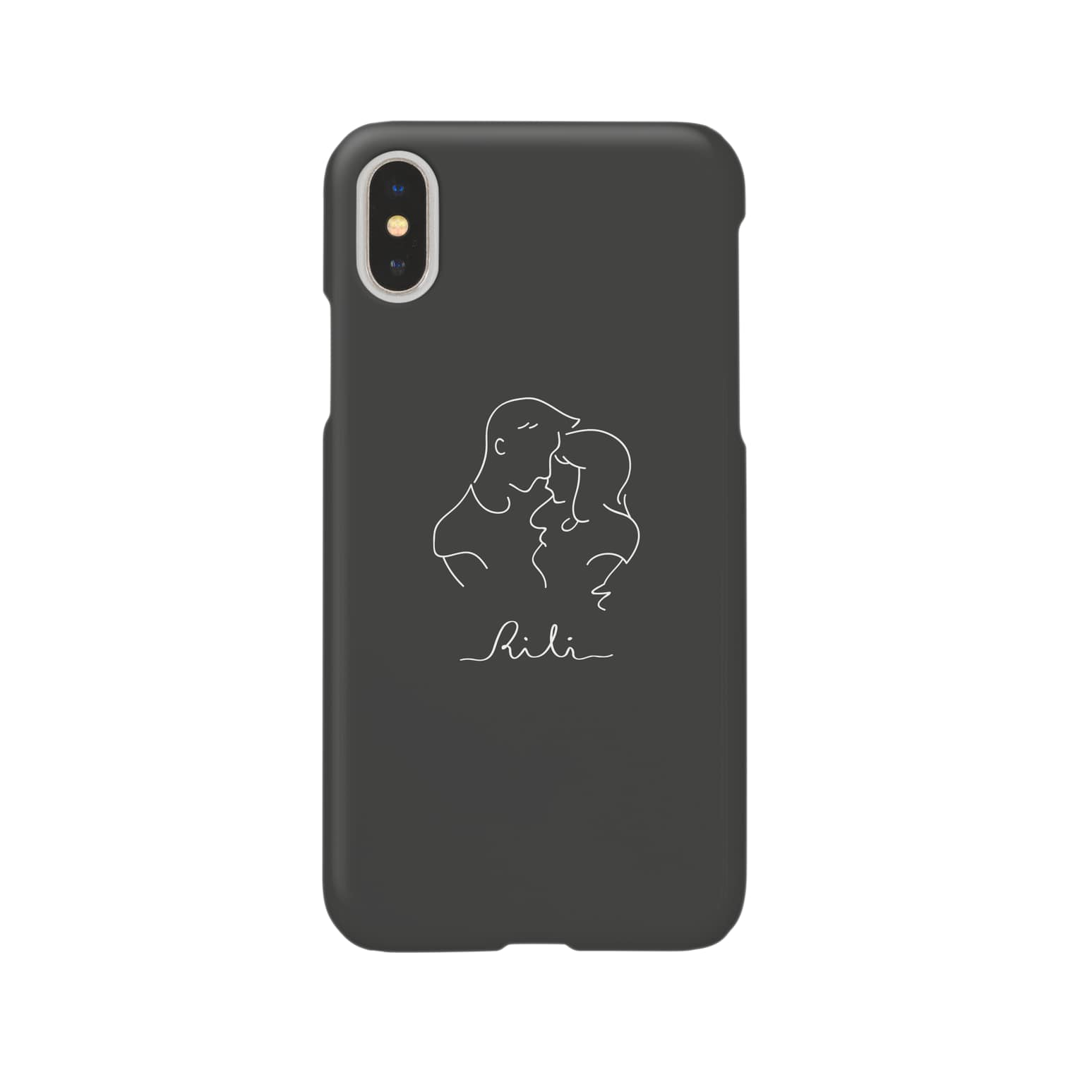 RiLiのtwo of a kind(スミクロ) Smartphone cases
