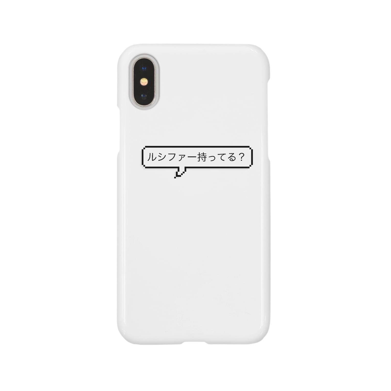 yoshica's design caféのルシファー持ってる? Smartphone cases