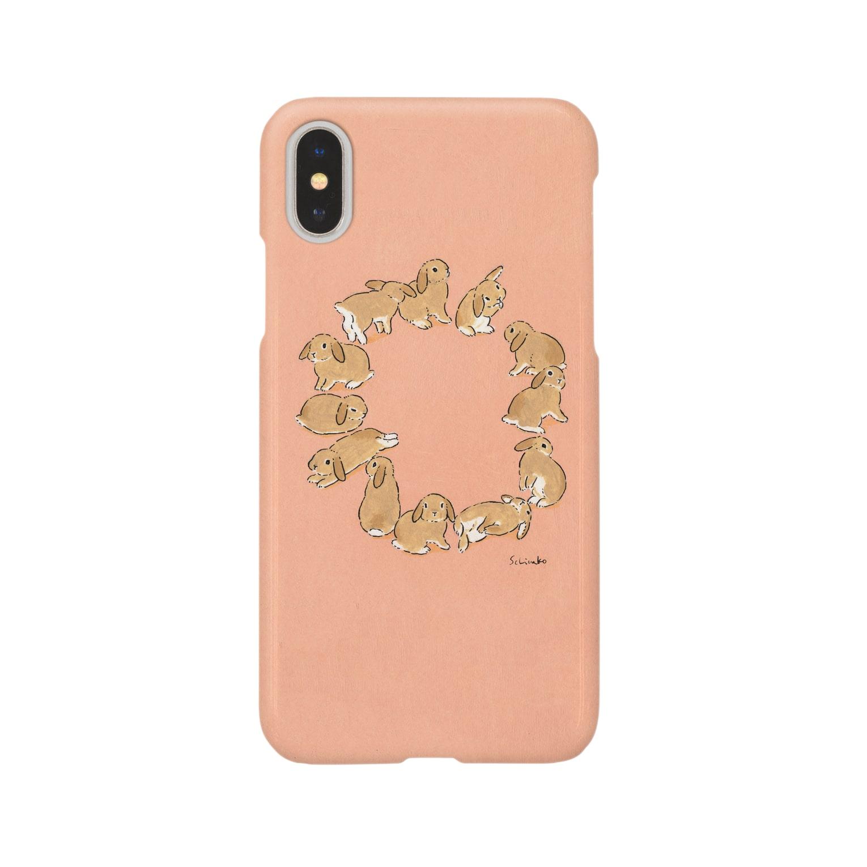 SCHINAKO'Sのうサークル(たれみみ) Smartphone cases