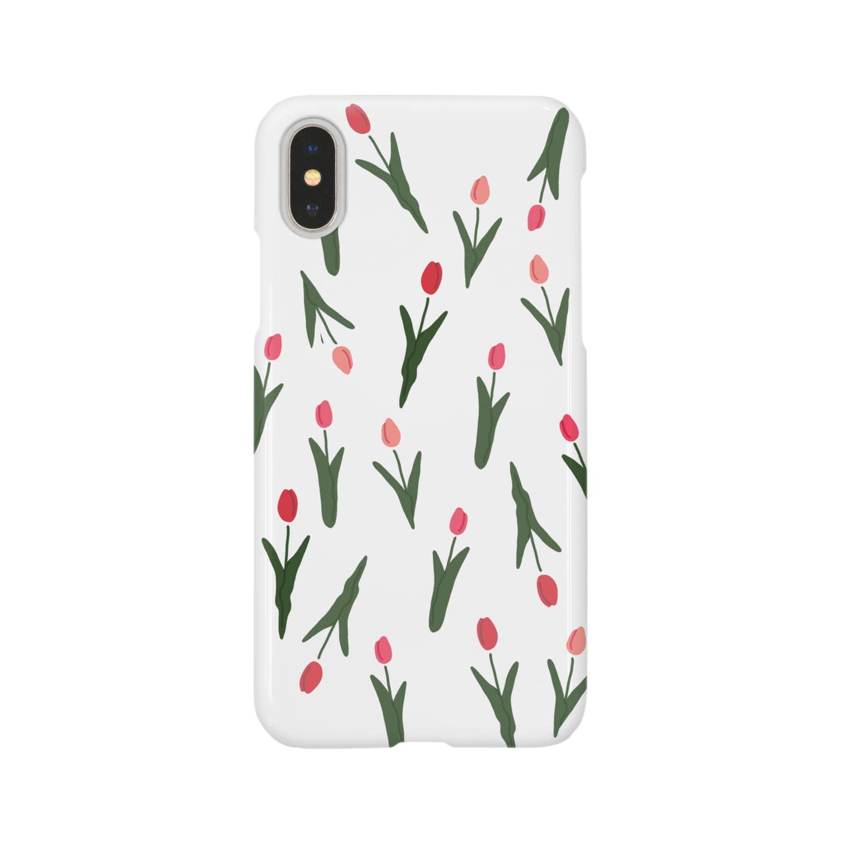 ▷            chiroruの🌷  tulip Smartphone cases