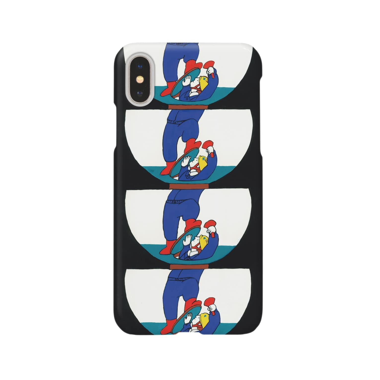 mihosのマンホール Smartphone cases