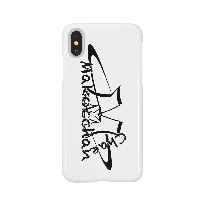 makocchanのショップロゴ Smartphone cases