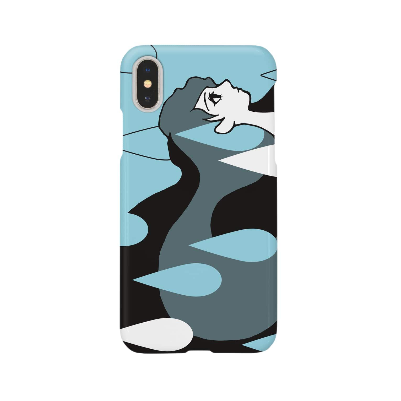 horigomeのGirl RAIN Smartphone cases