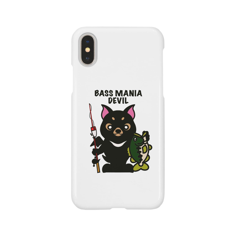 ikeyocraft のバスマニアデビル Smartphone cases