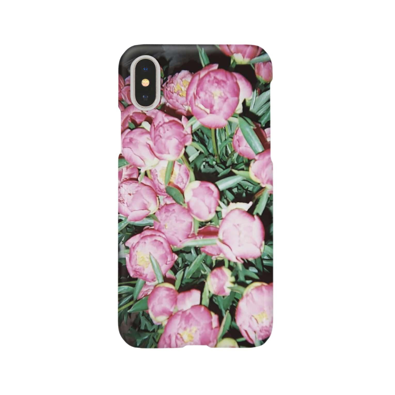 harucameraのharucamera シャクヤク Smartphone cases