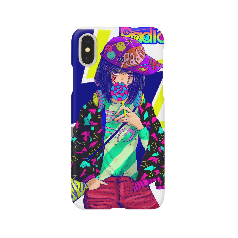 Radio Like hmm...のLollipop Girl 2 スマートフォンケース