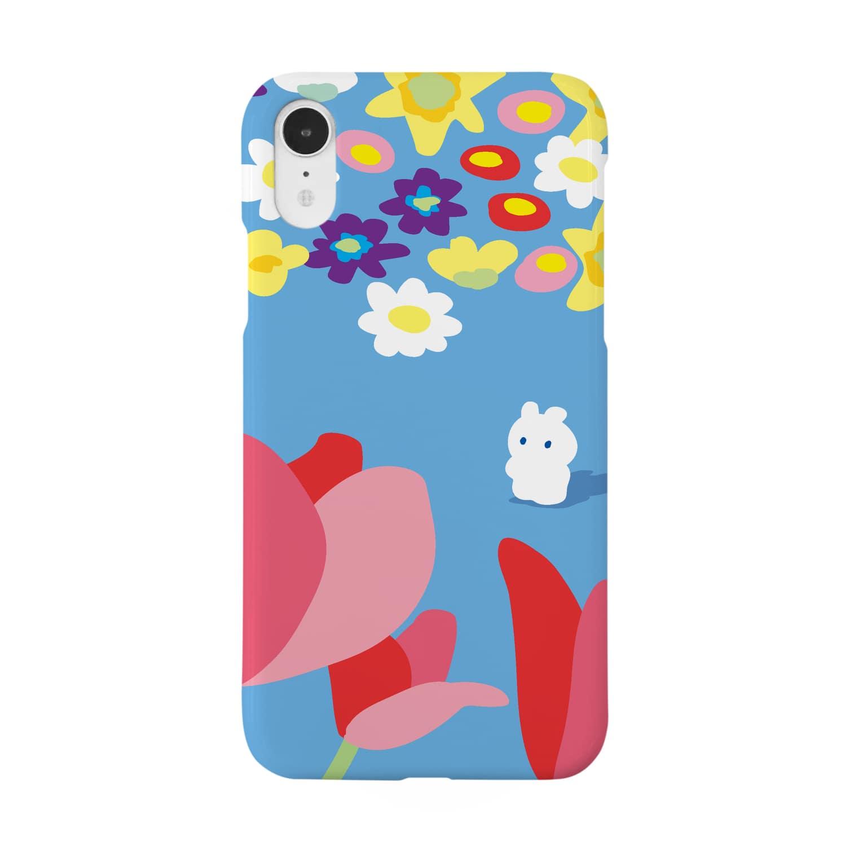 セスジキノボリのうさぎの Smartphone cases