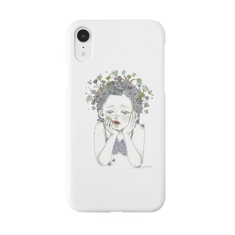lunar pecaのlunar peca Smartphone cases