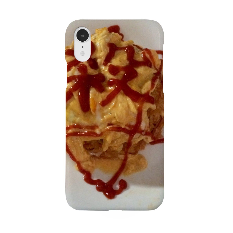 ルルののろいの特製オムライス Smartphone cases