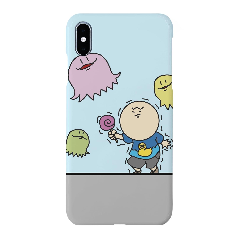 FELIZMANのおばけクラゲさん Smartphone cases