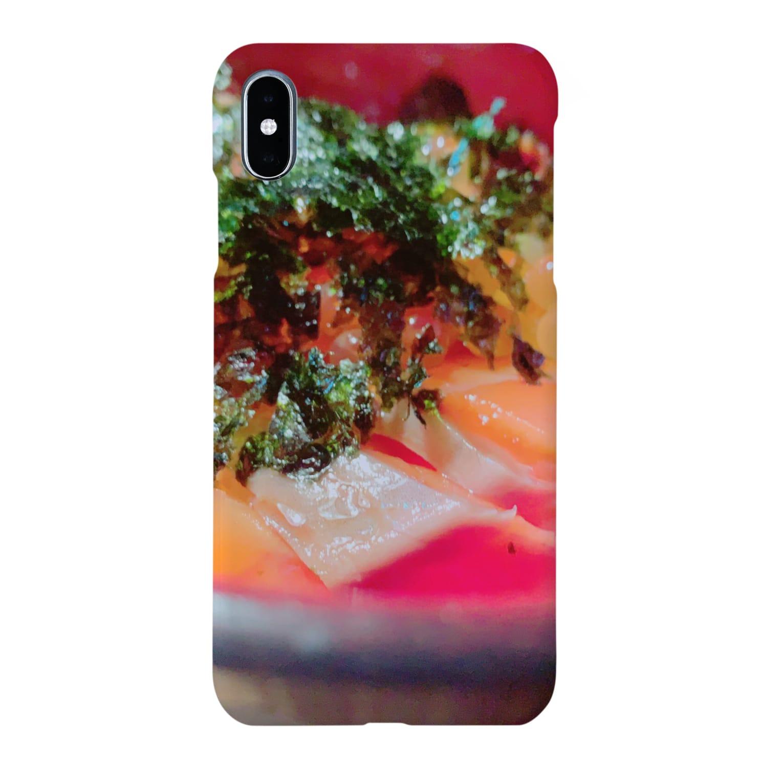 がっこうのそとのikura-salmon Smartphone cases