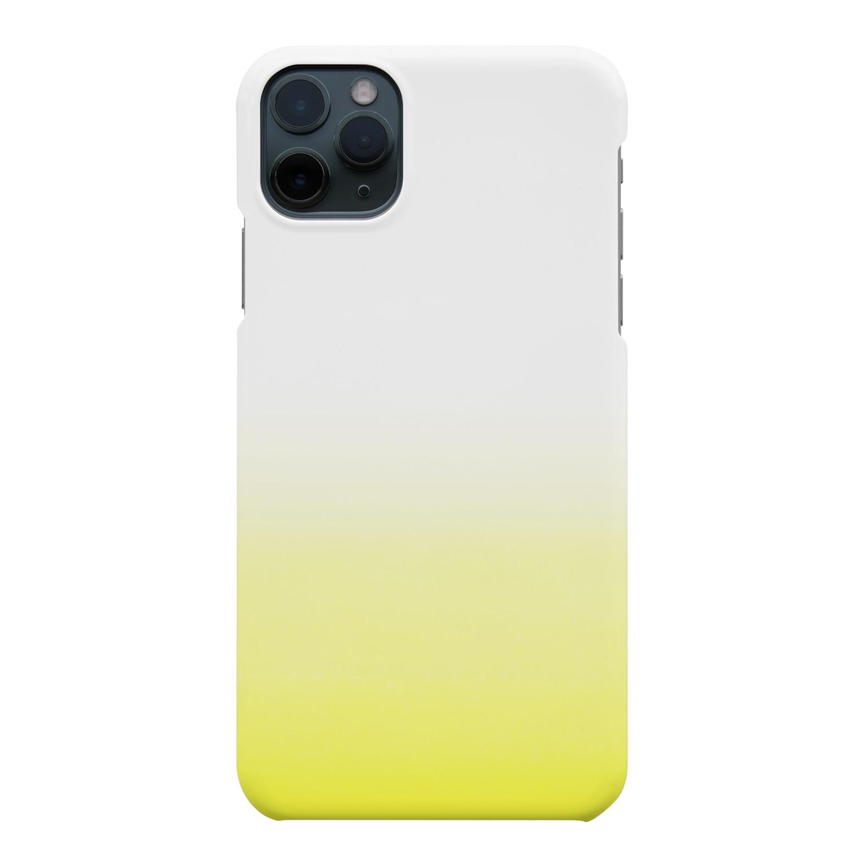 SHUNKAのイエローグラデーション(レモン) Smartphone cases