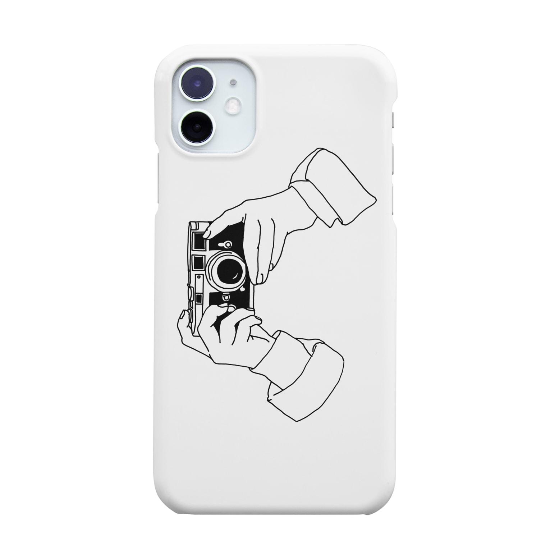 猫とアメジストのcamere Smartphone cases