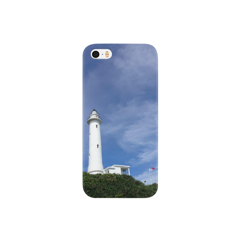 norigaの台湾・緑島灯台 Smartphone cases