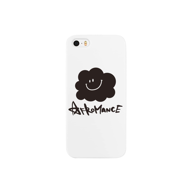 AFROMANCEのアフロマンス・ロゴ スマートフォンケース