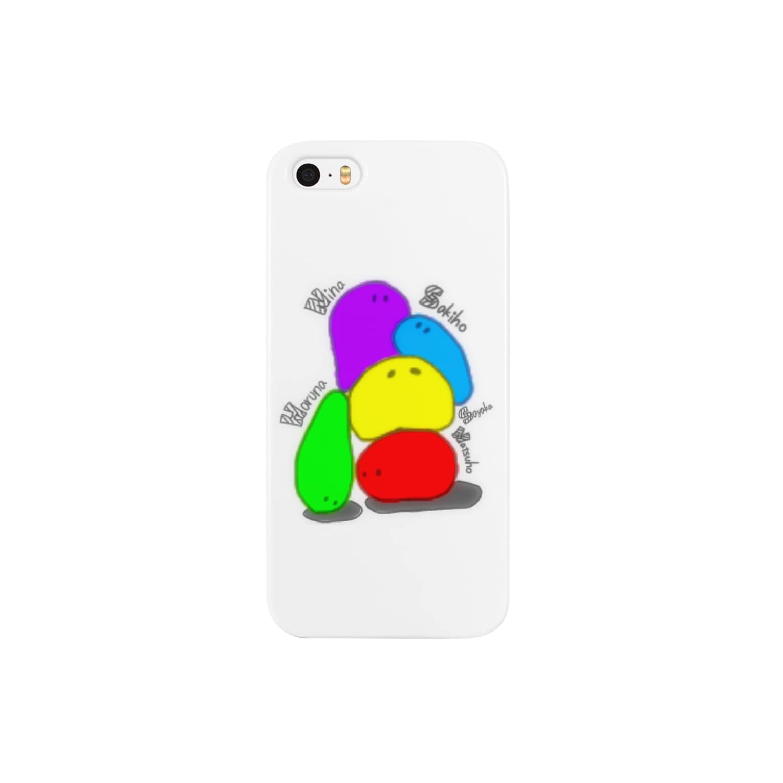 ◁おはヨーグルトのmy family Smartphone cases